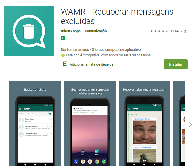Aplicativo De Recuperar Mensagem Apagada No WhatsApp
