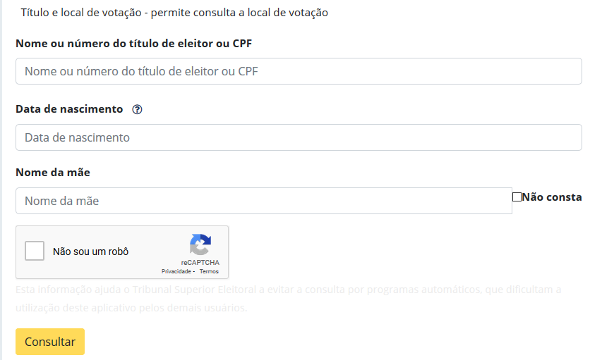 Como Descobrir O Número Do Título De Eleitor Pela Internet Com O CPF