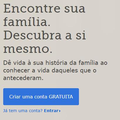 Como Descobrir Meus Antepassados Family Search