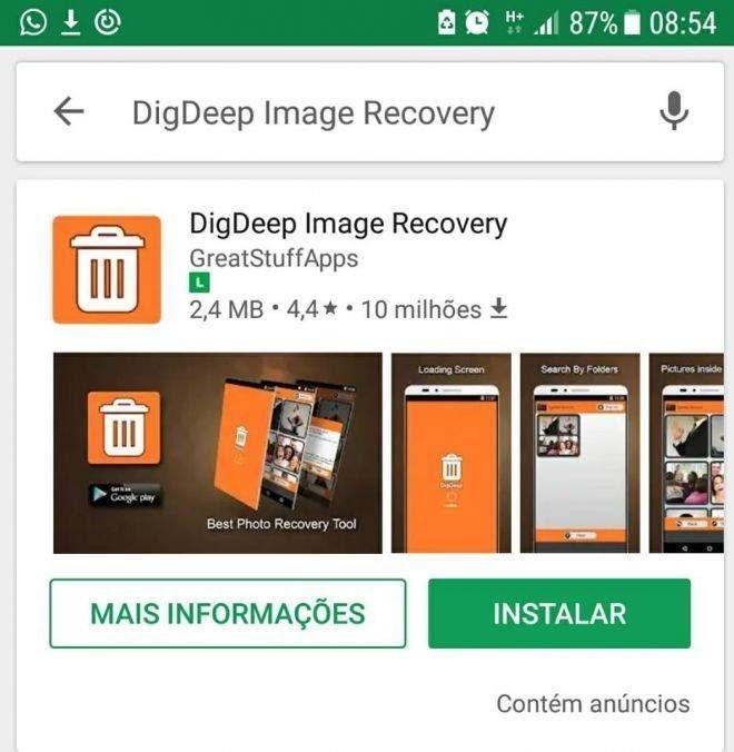 Como Recuperar Fotos Apagadas