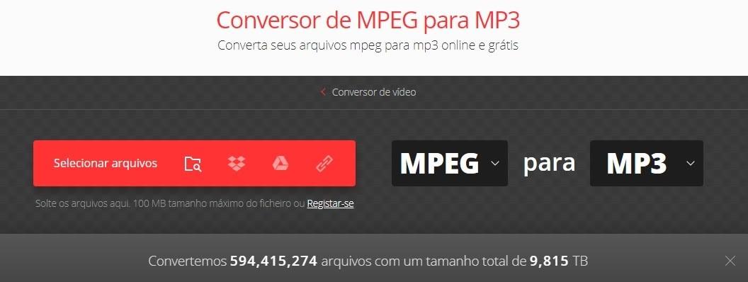 Como Converter MPEG Em MP3 Para Android
